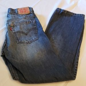 Levi's 505 Straight Leg 18 Slim 27x29 EUC No Holes